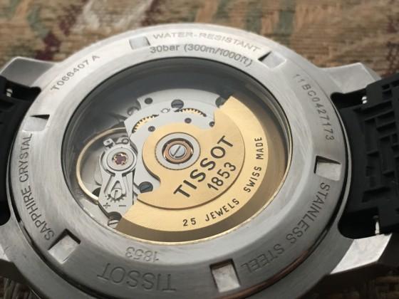 Tissot Seastar automatic