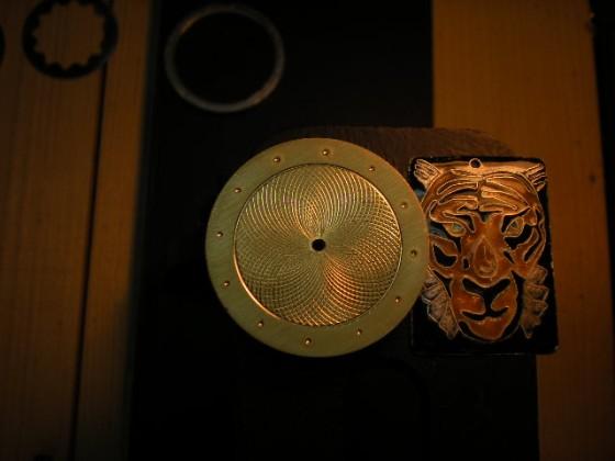 Hand made guilloche. :-)  Leszek Kralka